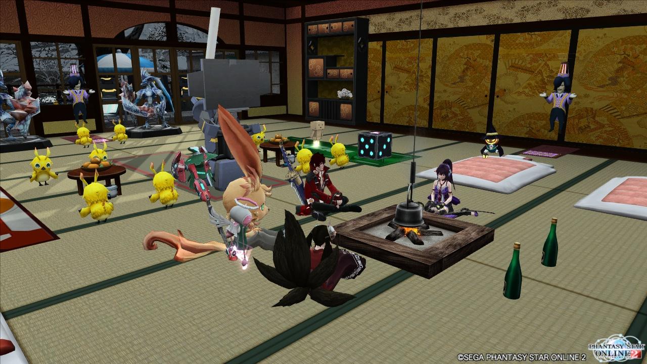 えびてん部屋(えびてん&シノ&アクセル&Chroa)